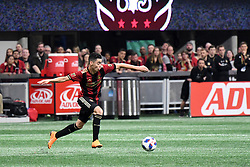 March 11, 2018 - Atlanta, GA, USA - Atlanta, Georgia - Sunday, March 11, 2018. Atlanta United defeated D.C. United, 3-1, in front of an MLS single-game record crowd of 72,035 at Mercedes-Benz Stadium. (Credit Image: © Perry Mcintyre/ISIPhotos via ZUMA Wire)
