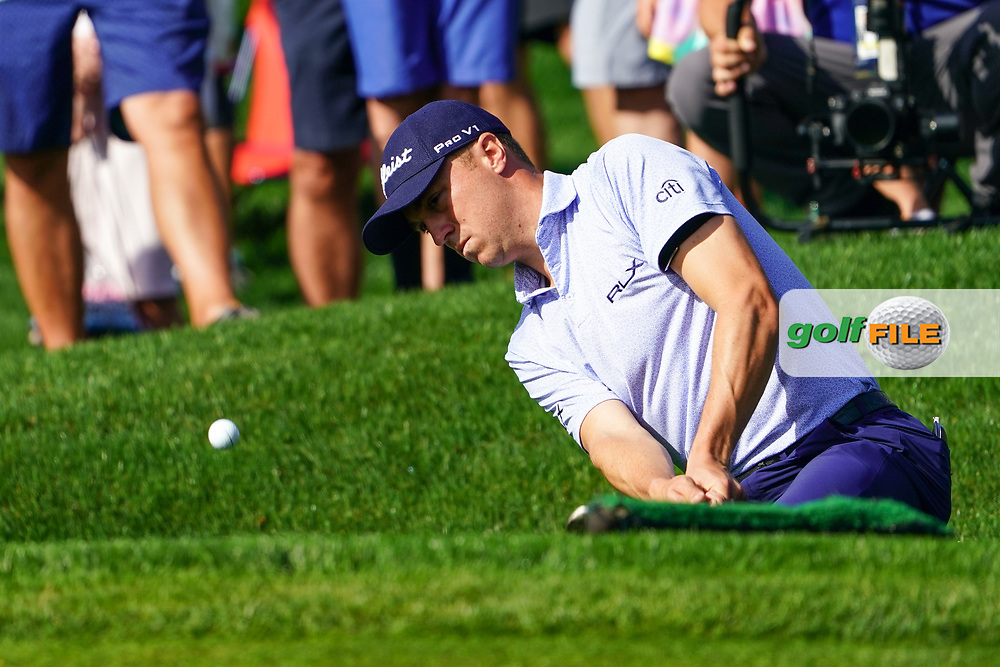 Justin Thomas (USA) during Round 1 of the Players Championship, TPC Sawgrass, Ponte Vedra Beach, Florida, USA. 12/03/2020<br /> Picture: Golffile | Fran Caffrey<br /> <br /> <br /> All photo usage must carry mandatory copyright credit (© Golffile | Fran Caffrey)