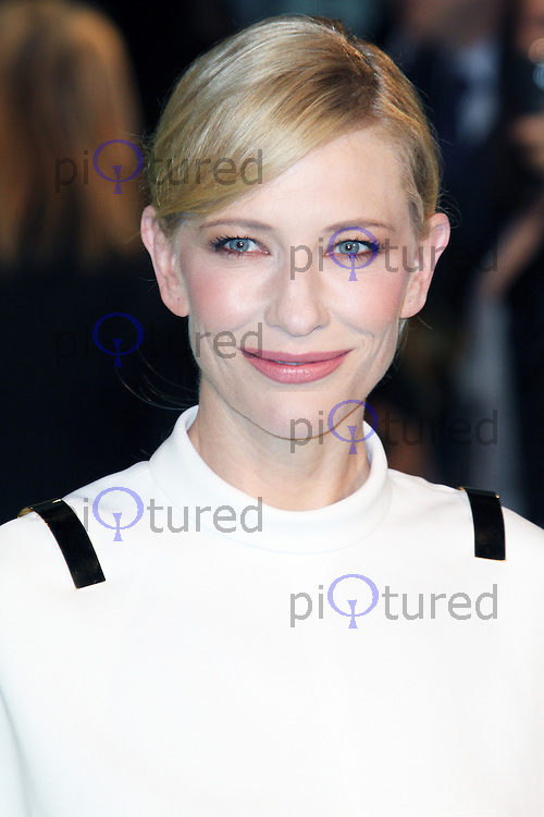 LONDON - DECEMBER 12: Cate Blanchett attended the Royal Film Performance 2012 of 'The Hobbit: An Unexpected Journey' at the Odeon Cinema, Leicester Square, London, UK. December 12, 2012. (Photo by Richard Goldschmidt)