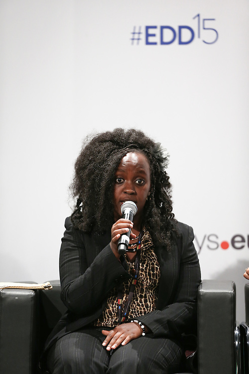 03 June 2015 - Belgium - Brussels - European Development Days - EDD - Urban - Sustainable cities - Good for the global North , but not the global South? - Ivy Langat , Future Leader © European Union