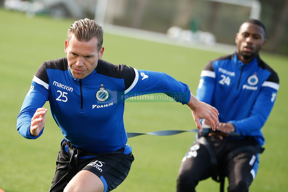 January 6, 2018 - San Roque, SPAIN - Club's Ruud Vormer pictured during day three of the winter training camp of Belgian first division soccer team Club Brugge, in San Roque, Spain, Saturday 06 January 2018. BELGA PHOTO BRUNO FAHY (Credit Image: © Bruno Fahy/Belga via ZUMA Press)