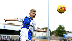 Mascot has a kick about on the Memorial Stadium before the game against Oxford United - Mandatory by-line: Robbie Stephenson/JMP - 14/08/2016 - FOOTBALL - Memorial Stadium - Bristol, England - Bristol Rovers v Oxford United - Sky Bet League One