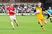 Port Vale defender Nathan Smith in action during the EFL Sky Bet League 2 match between Salford City and Port Vale at Moor Lane, Salford, United Kingdom on 17 August 2019.