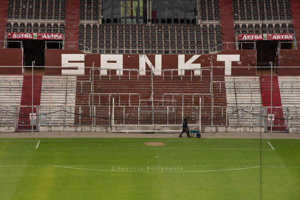 Millerntor Stadium Orte des Stadions. 17.05.2019. Fotos: Mauricio Bustamante.