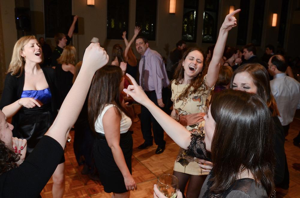 The dancing begins, Mundelein Center, Loyola University Chicago