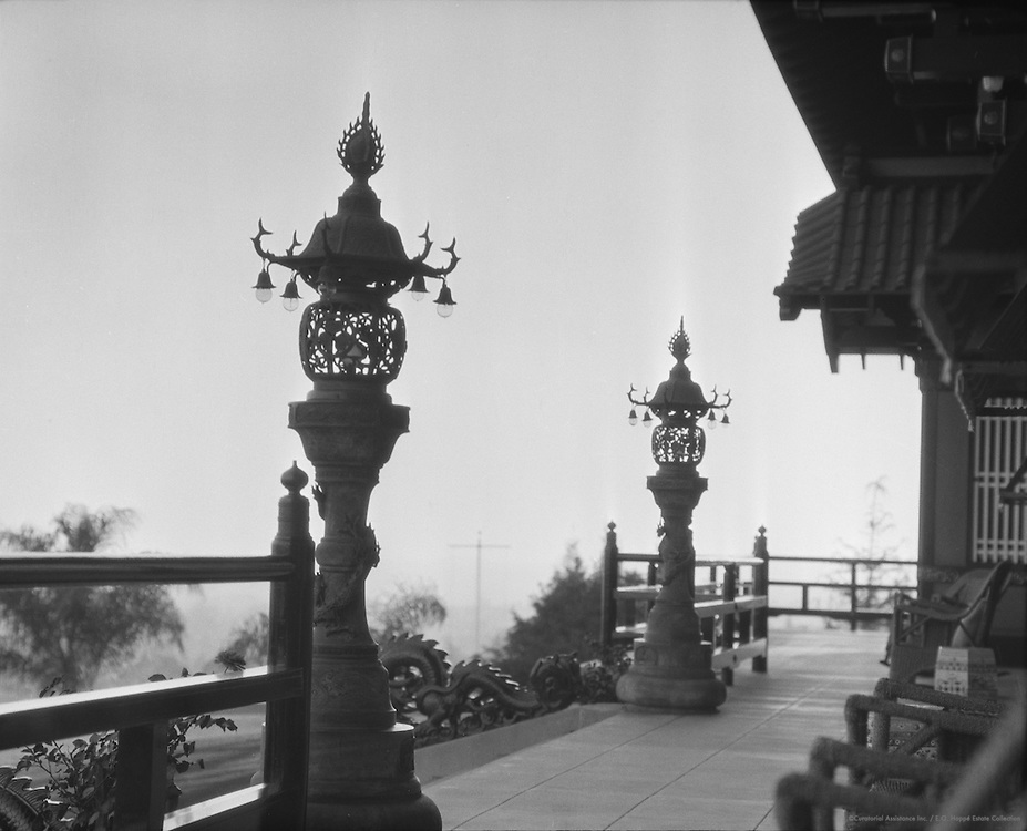 Japanese Embassy (now Yamashiro Restaurant), Hollywood, California, USA, 1926