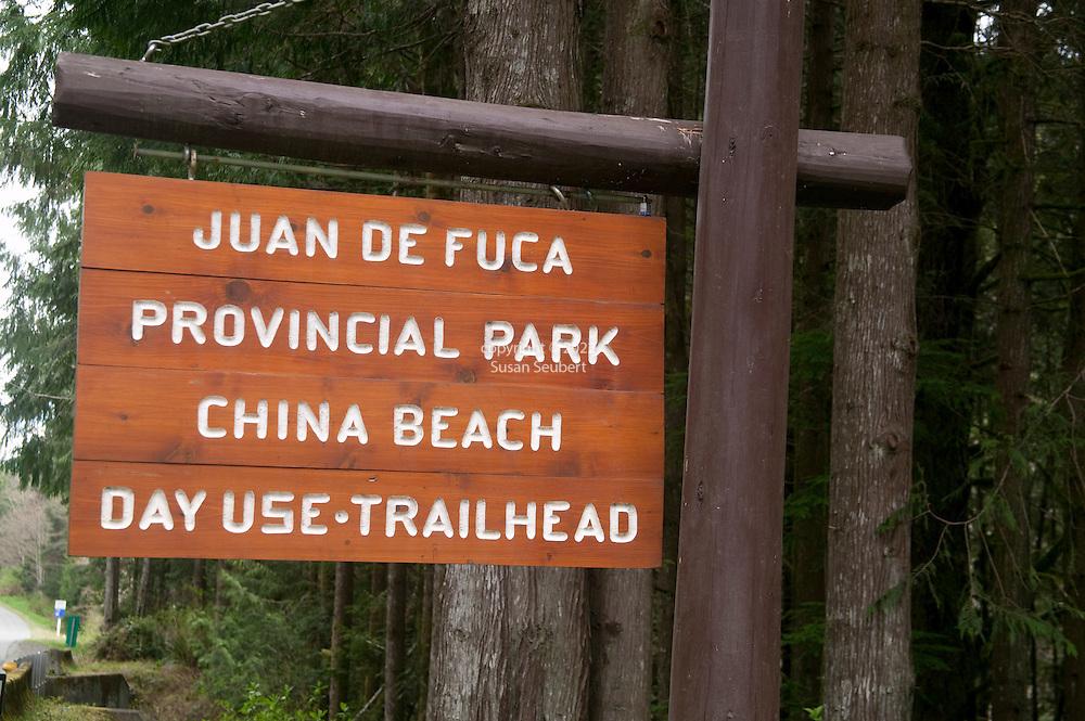 The Juan de Fuca Trail on Vancouver Island, B.C.