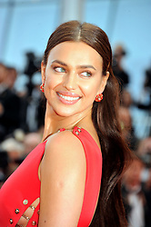 "71st Cannes Film Festival 2018, Red carpet film film ""Sorry Angel"". 10 May 2018 Pictured: 71st Cannes Film Festival 2018, Red carpet film film ""Sorry Angel""Irina Shayk. Photo credit: Pongo / MEGA TheMegaAgency.com +1 888 505 6342"