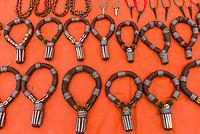 Tribal jewelry, Hamer tribe weekly market in Turmi, Omo Valley, Ethiopia.