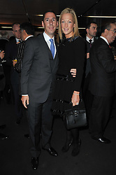 CHRISTIAN & EMILY CANDY at the launch of One Hyde Park, The Residences at Mandarin Oriental, Knightsbridge, London on 19th January 2011.