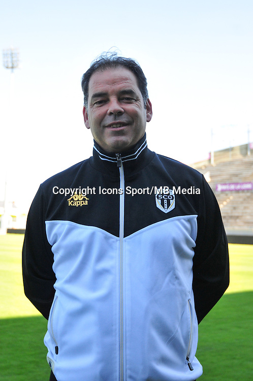 Stephane Moulin - 10.09.2014 - Angers - Photo Officielle - Ligue 2<br /> Photo: Philippe Le Brech / Icon Sport