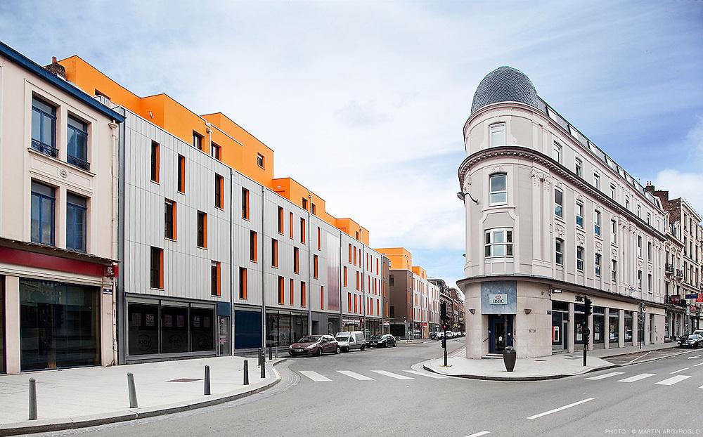 Les Villas Sarrail à Roubaix, 2010. Bathilde Millet architecte.