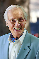 Edinburgh. UK. 17th August. Edinburgh International Book Festival. Nicholas Parsons pictured during Edinburgh International Book Festival. Pako Mera