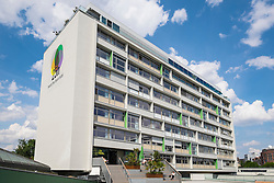 New Twenty Five Hours Hotel (25 Hours Hotel) in former Bikini Haus at Charlottenburg Berlin Germany