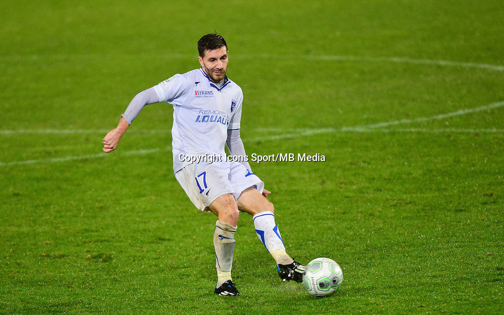 Karim DJELLABI   - 19.12.2014 - Auxerre / Niort - 18e journee Ligue 2<br /> Photo : Dave Winter / Icon Sport