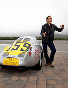 Jerry Seinfeld and Porsche 550-003, California, America west coast