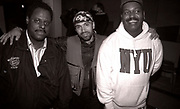 Frankie Knuckles and David Morales with another US DJ, 1990s