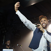 Jidenna performs at the Martell Home event at Union Market DC in Washington, D.C. (Photo by Kyle Gustafson)