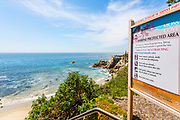 Marine Protected Area at Moss Cove in Laguna Beach
