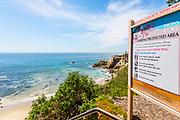 Marine Protected Area at Moss Cove in Laguna Beach