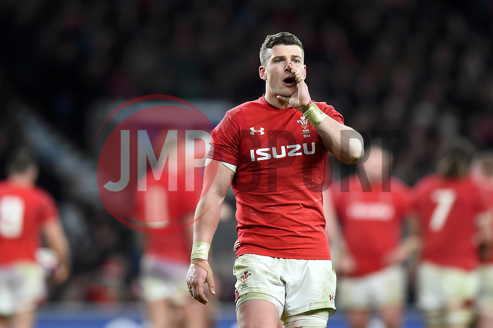 Scott Williams of Wales - Mandatory byline: Patrick Khachfe/JMP - 07966 386802 - 10/02/2018 - RUGBY UNION - Twickenham Stadium - London, England - England v Wales - Natwest Six Nations