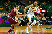 WACO, TX - NOVEMBER 12: Isaiah Austin #21 of the Baylor Bears brings the ball up court against the South Carolina Gamecocks on November 12, 2013 at the Ferrell Center in Waco, Texas.  (Photo by Cooper Neill/Getty Images) *** Local Caption *** Isaiah Austin