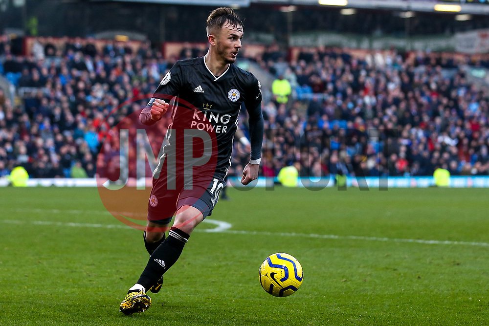 James Maddison of Leicester City - Mandatory by-line: Robbie Stephenson/JMP - 19/01/2020 - FOOTBALL - Turf Moor - Burnley, England - Burnley v Leicester City - Premier League