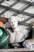 classic greek bust ornament