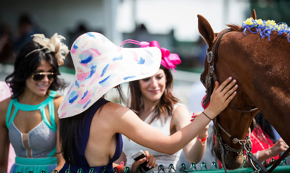 May 02, 2015: Scenes from the Kentucky Derby at Churchill Downs Louisville Ky. Alex Evers/ESW/CSM