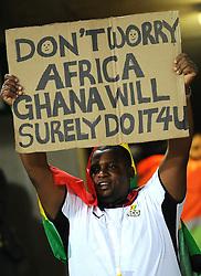 Tifosi.USA Ghana - USA vs Ghana.Ottavi di finale - Round of 16 matches.Campionati del Mondo di Calcio Sudafrica 2010 - World Cup South Africa 2010.Royal Bafokeng Stadium, Rustenburg, 26 / 06 / 2010.