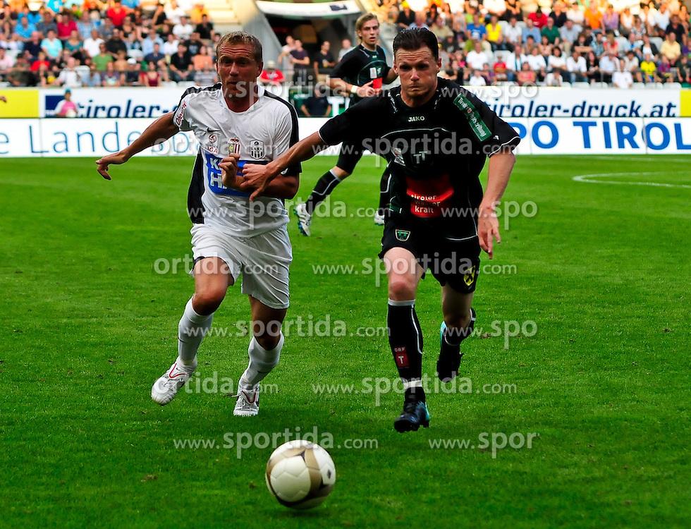 21.08.2010, Tivoli, Innsbruck, AUT, 1. FBL, Wacker Innsbruck vs LASK Linz, im Bild, , EXPA Pictures © 2010, PhotoCredit: EXPA/ D. Liebl / SPORTIDA PHOTO AGENCY