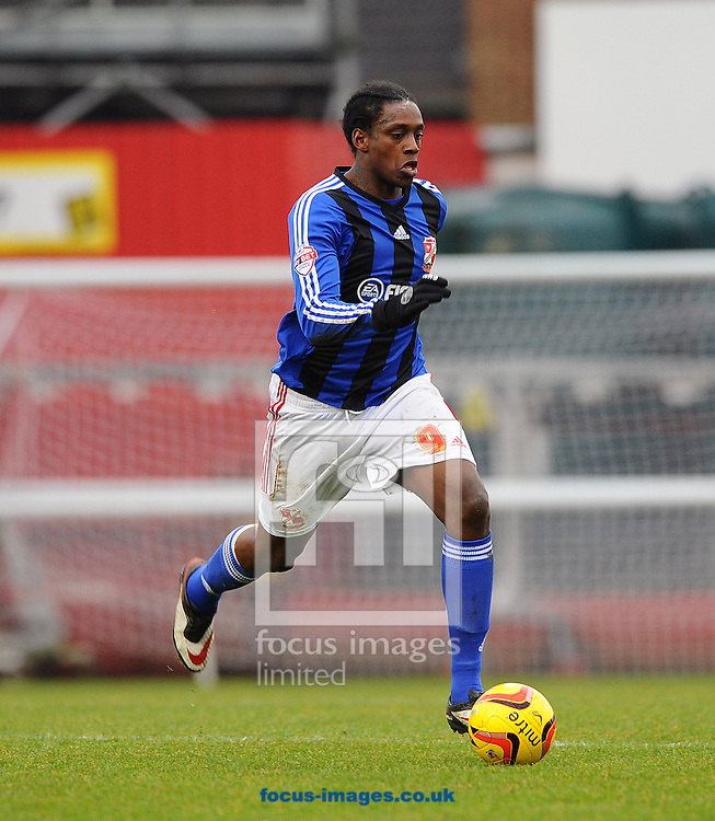 Picture by Seb Daly/Focus Images Ltd +447738 614630<br /> 26/12/2013<br /> Nile Ranger of Swindon Town during the Sky Bet League 1 match at Griffin Park, London.