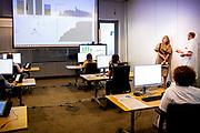 AMSTERDAM, 26-05-2020 , Koningin Maxima brengt werkbezoek aan OLVG in het kader van het digitale ziekenhuis.<br /> <br /> Koningin Maxima tijdens een werkbezoek gebracht in het kader van de digitale transformatie die de ziekenhuiszorg ondergaat in tijden van corona. Het bezoek vond plaats in OLVG in Amsterdam.Door de uitbraak van COVID-19 heeft OLVG ingezet op verdere digitalisering van de zorg om patiënten en hun naasten zo goed mogelijk op afstand te kunnen ondersteunen.<br /> <br /> Queen Maxima made a working visit in the context of the digital transformation that hospital care is undergoing in times of corona. The visit took place in OLVG in Amsterdam. Due to the outbreak of COVID-19, OLVG has focused on further digitization of care in order to provide patients and their loved ones with the best possible remote support.