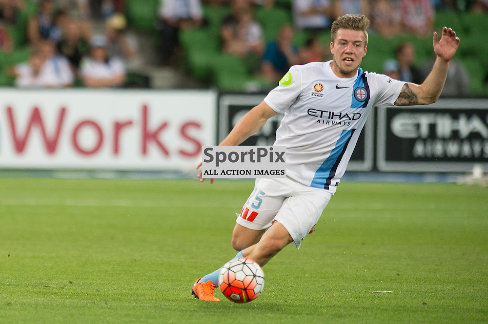 Jacob Melling of Melbourne City - Hyundai A-League,  25th October 2015, RD 3, Melbourne City FC v Central Coast Mariners with a win to City 3:1 © Mark Avellino | SportPix.org.uk