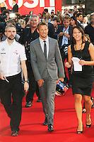 Jenson Button, Rush - World film premiere, Leicester Square gardens, London UK, 02 September 2013, (Photo by Richard Goldschmidt)