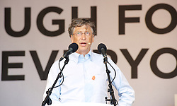 Big IF London<br /> Bill Gates during Big IF London. A campaign to tackle world hunger, Hyde Park<br /> London, United Kingdom<br /> Saturday, 8th June 2013<br /> Picture by Elliot Franks / i-Images