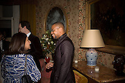 CUBA GOODING JNR., Pre Bafta dinner hosted by Charles Finch and Chanel. Mark's Club. Charles St. London. 9 February 2008.  *** Local Caption *** -DO NOT ARCHIVE-© Copyright Photograph by Dafydd Jones. 248 Clapham Rd. London SW9 0PZ. Tel 0207 820 0771. www.dafjones.com.