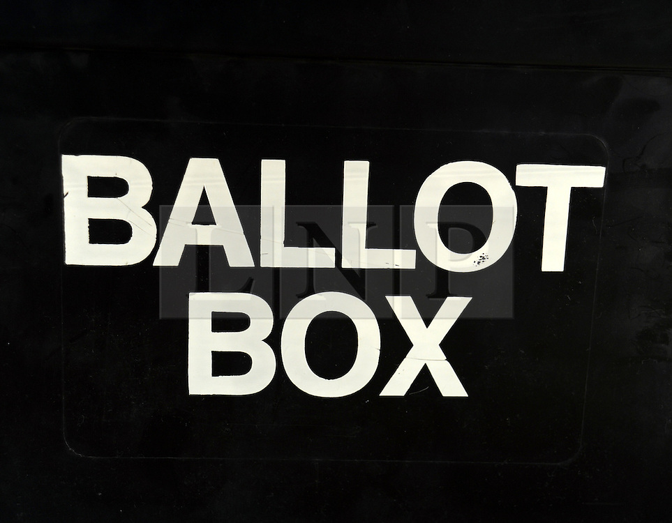 ©  licensed to London News Pictures. .London, UK.05/05/2011.Ballot Box ,London..Please see special instructions..Picture credit should read Grant Falvey/LNP......
