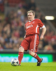 LIVERPOOL, ENGLAND - Thursday, May 14, 2009: Liverpool Legends' Ray Houghton in action against the All Stars during the Hillsborough Memorial Charity Game at Anfield. (Photo by David Rawcliffe/Propaganda)