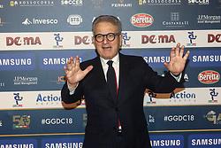December 3, 2018 - Milan, Italy - Antonio Matarrese at 'Oscar Del Calcio AIC' Italian Football Awards photocall in Milano, Italy, on December 03 2018  (Credit Image: © Mairo Cinquetti/NurPhoto via ZUMA Press)