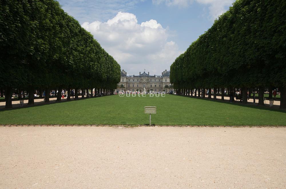 Avenue de L?Observatoire jardin du luxembourg Paris
