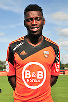 Lamine Gassama - 25.09.2014 - Photo officielle Lorient - Ligue 1 2014/2015<br /> Photo : Philippe Le Brech / Icon Sport