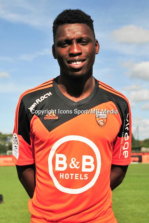 Lamine Gassama - 25.09.2014 - Photo officielle Lorient - Ligue 1 2014/2015<br /> Photo : Philippe Le Brech / Icon Sport