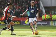 Daniel Fox of Nottingham Forest (13) during the EFL Sky Bet Championship match between Sheffield United and Nottingham Forest at Bramall Lane, Sheffield, England on 17 March 2018. Picture by Mick Haynes.