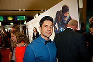 AMSTERDAM - In het Rai theater is de filmpremiere van Iron Man 3. Met op de foto