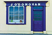 J'ODonovan shop front at Courtmacsherry, County Cork, Ireland
