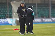 Jacksonville Jaguars Head Coach Dave Marrone during the training session / press conference for Jacksonville Jaguars at Allianz Park, Hendon, United Kingdom on 1 November 2019.