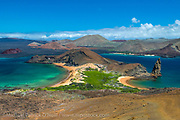 Bartolome Island in the Galapagos is the most recognized landscape in the archipelago.