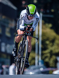 06.07.2019, Wels, AUT, Ö-Tour, Österreich Radrundfahrt, Prolog, Einzelzeitfahren (2,5 km), im Bild Tom-Jelte Slagter (Team Dimension Data, NED) // during the prolog, Individual time trial (2,5 Km) of the 2019 Tour of Austria. Wels, Austria on 2019/07/06. EXPA Pictures © 2019, PhotoCredit: EXPA/ JFK