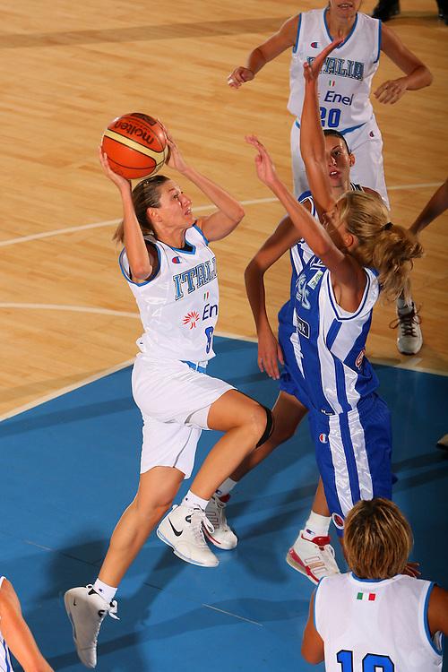 DESCRIZIONE : Bormio Torneo Internazionale Femminile Olga De Marzi Gola Italia Grecia <br /> GIOCATORE : Frencesca Modica <br /> SQUADRA : Nazionale Italia Donne Italy <br /> EVENTO : Torneo Internazionale Femminile Olga De Marzi Gola <br /> GARA : Italia Grecia Italy Greece <br /> DATA : 24/07/2008 <br /> CATEGORIA : Tiro <br /> SPORT : Pallacanestro <br /> AUTORE : Agenzia Ciamillo-Castoria/S.Silvestri <br /> Galleria : Fip Nazionali 2008 <br /> Fotonotizia : Bormio Torneo Internazionale Femminile Olga De Marzi Gola Italia Grecia <br /> Predefinita :